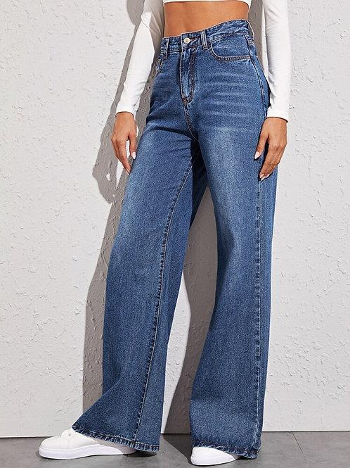 Cute Wide Leg Fit Jeans