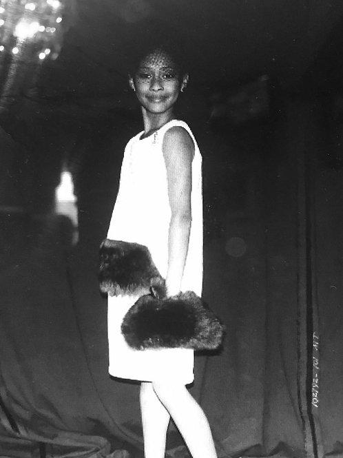 Dresscode Collektions Authentic Fur Clutch