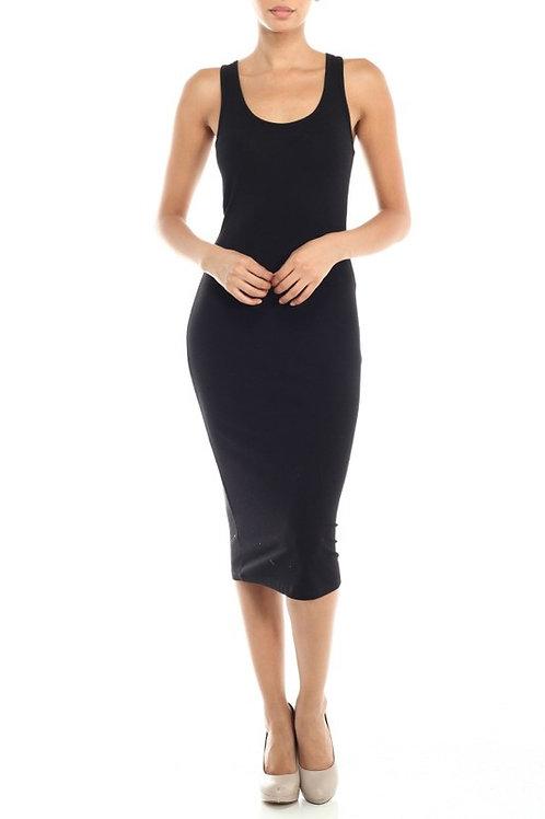 Lady Boss Razorback Midi Dress