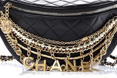 CC Fannypack Chain Belt