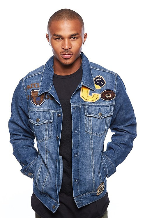 Imperious Patched Denim Jacket
