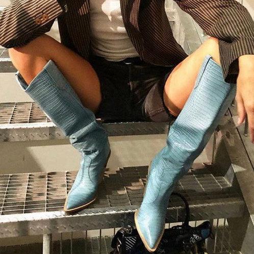 Platform Heel Boot