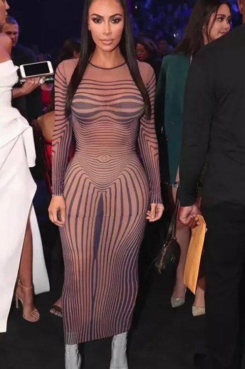 Kim K Form Dress