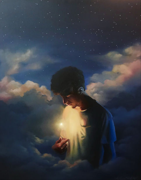 His Own Star_24x36_Oil.jpg
