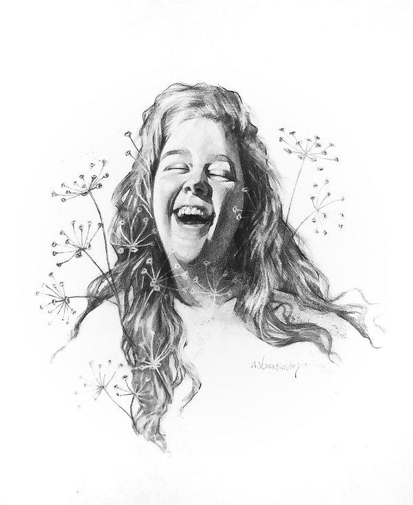 Phenomenal Woman_Graphite on Paper_16x20
