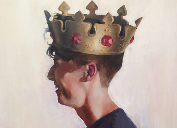 Crown, Oil on Wood Board, 18 x 24