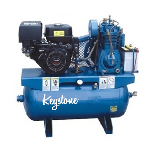 13hp Gas Engine Driven Truck Type 30 gallon 2 Stage Air Compressor