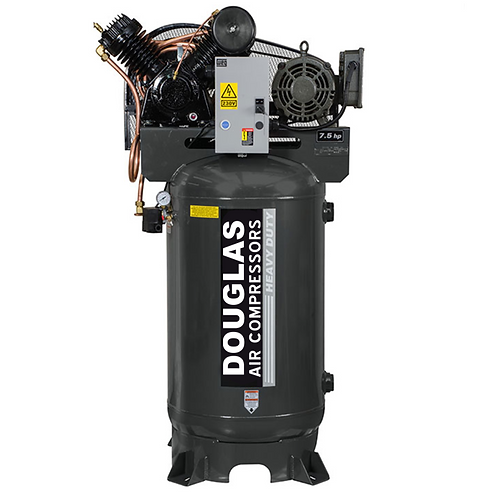 7.5hp 80gallon Industrial DOUGLAS Air Compressor