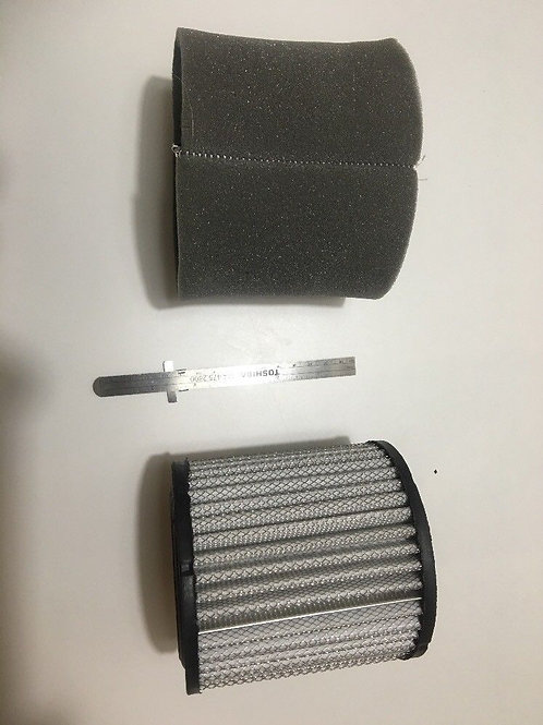 (2) #20 AIR FILTER ELEMENTS FOR LARGE CANISTER REPL 18P 19P P5051A RN24015-1
