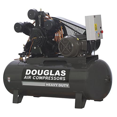 20hp 120 gallon 80CFM INDUSTRIAL DOUGLAS AIR COMPRESSOR