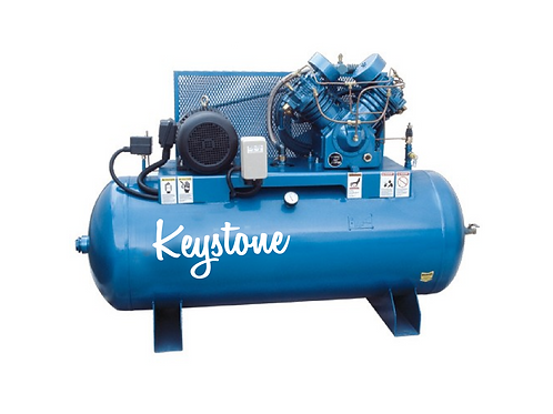 10hp Air Compressor Industrial Cast-Iron 2 Stage 120 Gallon