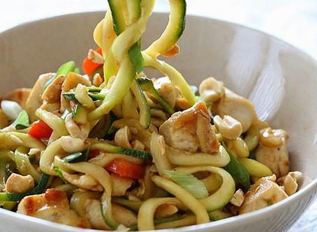 3 Farklı Kabagetti (kabak spagetti) Tarifi