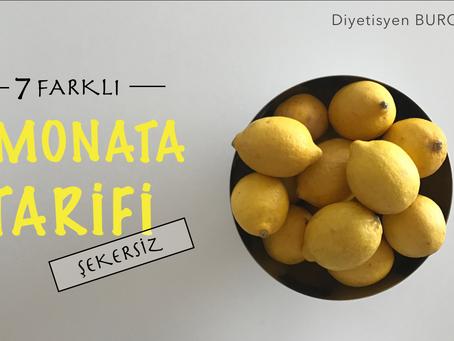Limonata Tarifleri (Şekersiz)