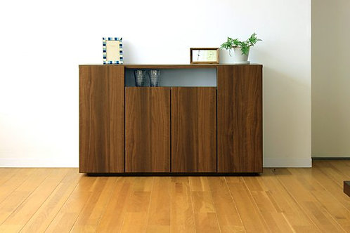 EASE 120CABINET WALNUT COLOR