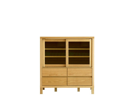 CANO 85 LOW CUPBOARD WHITEOAK