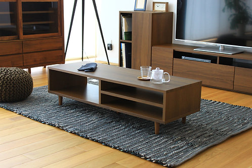 EASE 120TABLE WALNUT COLOR