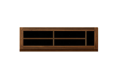 ASTER 120 TV GLASSDOOR WALNUT