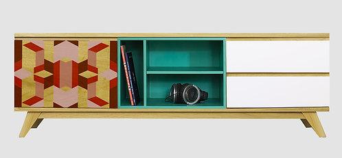 Mueble de TV Geométrico 2