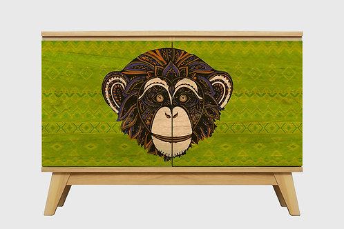 Vajillero Chimpance Verde