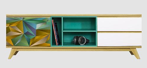 Mueble de TV Futurista