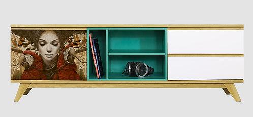 Mueble de TV Loros