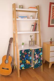 Biblioteca Unicornios por Ana Sanfelippo