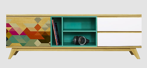 Mueble de TV Tetris