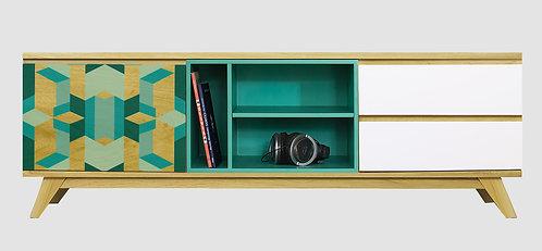 Mueble de TV Geométrico