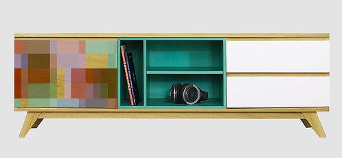 Mueble de TV Patchwork 2