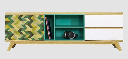 Mueble de TV Zig Zag