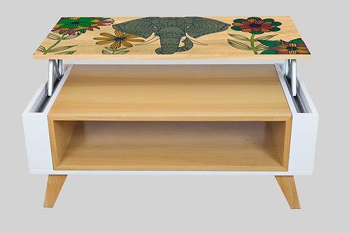 Mesa Ratona Elevable Elefante
