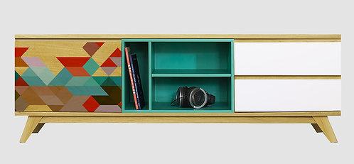 Mueble de TV Tetris 2