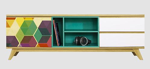 Mueble de TV Panal