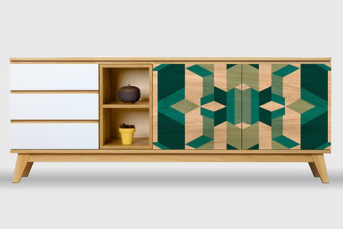 Cómoda XL Geométrico