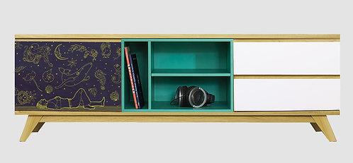 Mueble de TV Amor Infinito por Carolina Zambrano