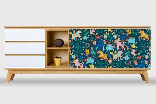 Cómoda XL Unicornios por Ana Sanfelippo