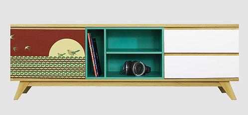 Mueble de TV Aves