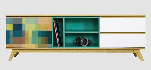 Mueble de TV Patchwork