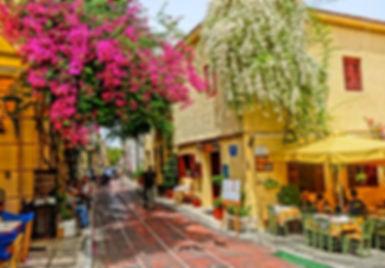 ギリシャ旅行アテネ市内観光プラカエリア.jpg
