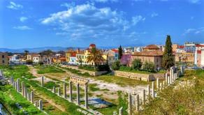ローマンアゴラ(ローマ時代のアゴラ)/Roman Agora /アテネ/観光情報/古代ローマ遺跡/ギリシャの遺跡