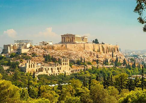 アテナイのアクロポリスパルテノン神殿古代アゴラローマンアゴラゼウス神殿ハドリアヌ