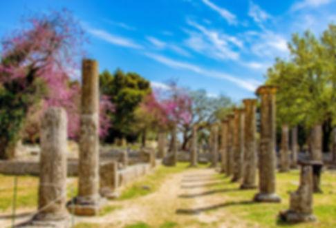オリンピア遺跡世界遺産古代遺跡オプショナルツアープライベートツアータクシープライ