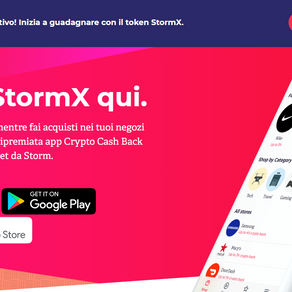 StormX - Shop, Play, Earn, Stake