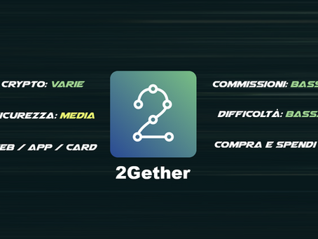 2gether - Compra e Spendi crypto nei negozi