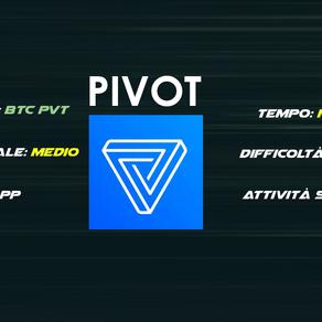 Pivot - Accumula PVT e BTC con azioni social
