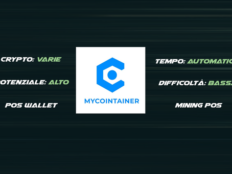 MyContainer - POS staking Automatico