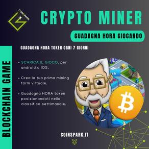 CryptoMiner - HORA Token Gratis