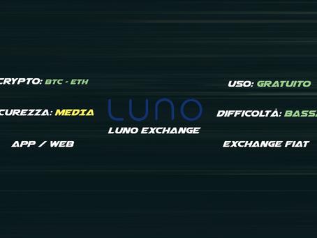 Luno exchange BTC/Euro & Euro/BTC
