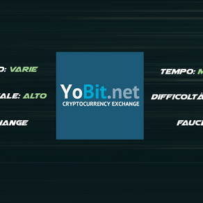 Yobit Exchange - Faucet Crypto Gratis