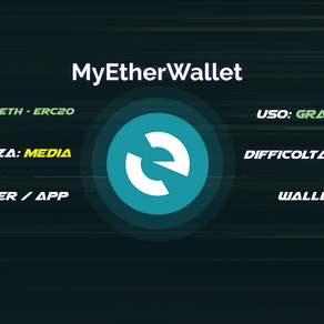 MyEtherWallet (MEW) Android/IoS versione nuova